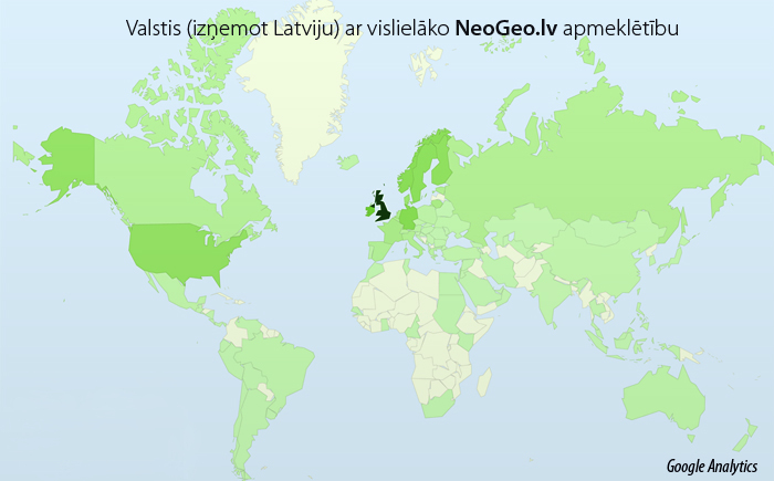 Google Analytics Neogeo.lv