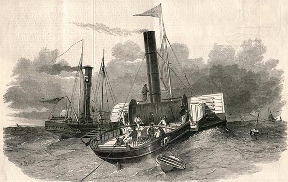 Doveras-Kalē kabeļa likšana