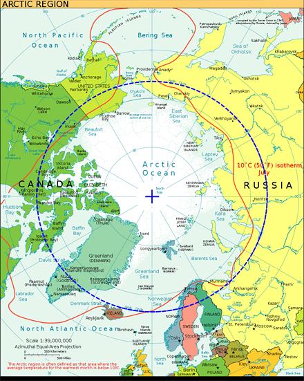Arktikas karte