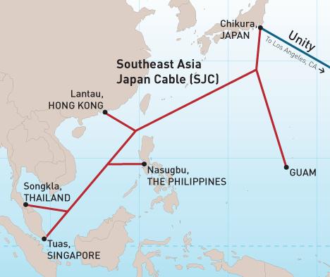 Dienvidaustrumu Āzijas – Japānas kabelis