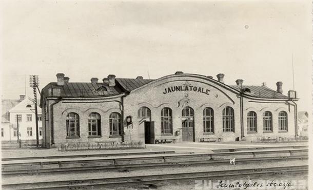Jaunlatgales stacija 1937. gadā