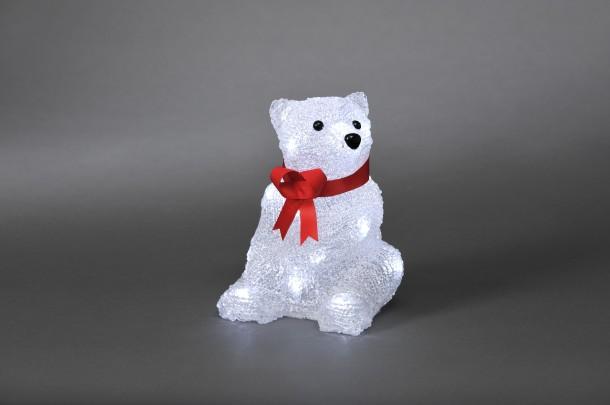 """Elektriskais dekors """"Sēdošs lācis"""""""