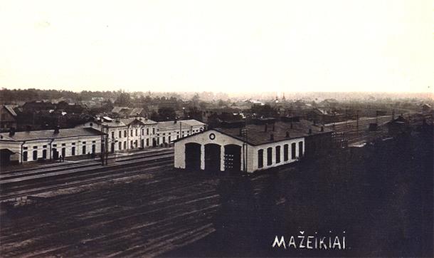 Mažeiķu stacija(1920-tie gadi)