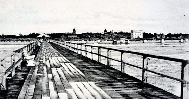 Palanga ap 1906. gadu