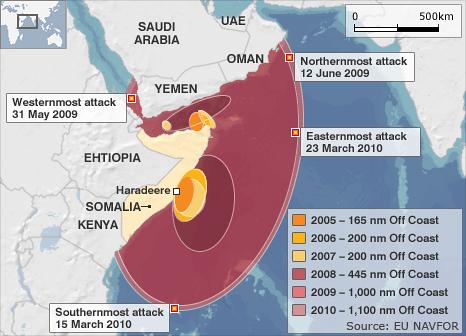 Somālijas pirātisma ekspansija| Neogeo.lv
