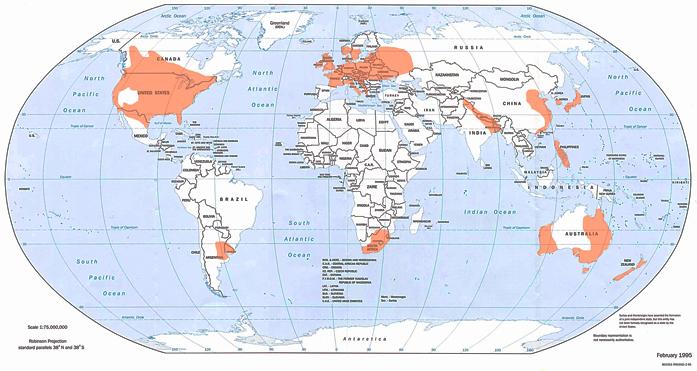 Kur virpuļviesuļi ir sastopami visbiežāk